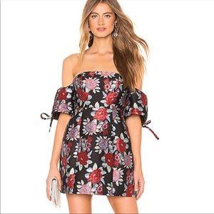 Lovers + Friends Allie Black Mini Party Dress XXS